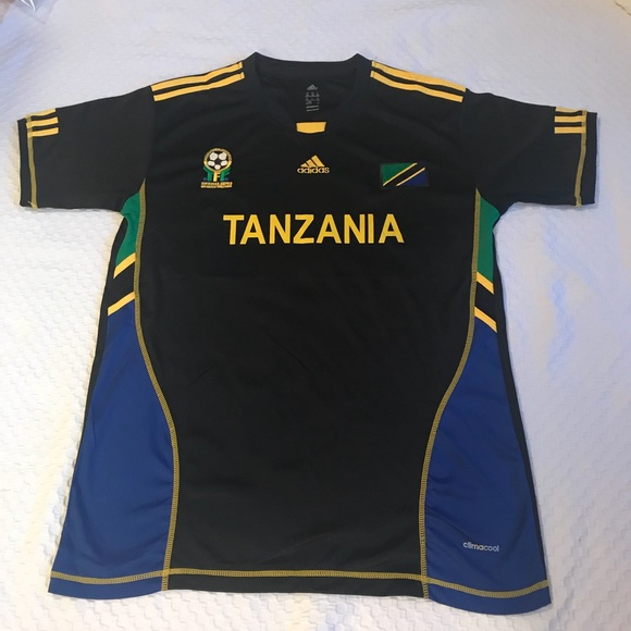 8248aa41f adidas Other - Adidas Tanzania Soccer Football Jersey Shirt